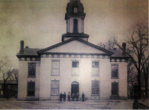 Original Courthouse with Sheriff's Department, c. 1900-1910