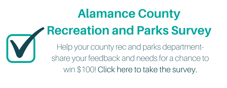 Web Banner Alamance County Recreation and Parks Survey