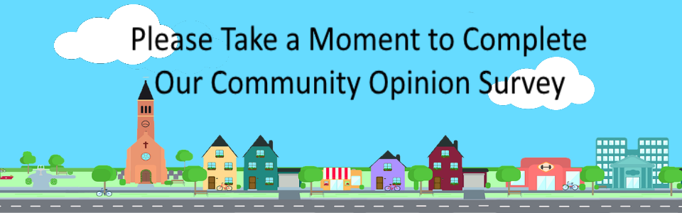 Community Opinion Survey Ad