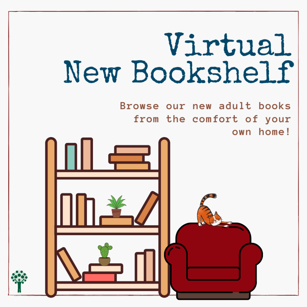 Virtual New Bookshelf – Adult