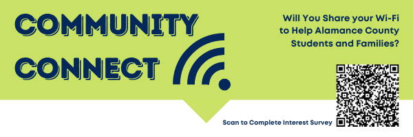 Community Connect Logo & QR