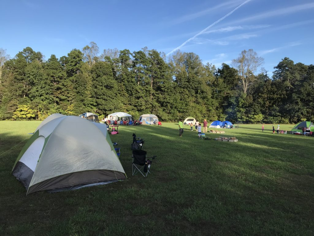 Cedarock Family campout