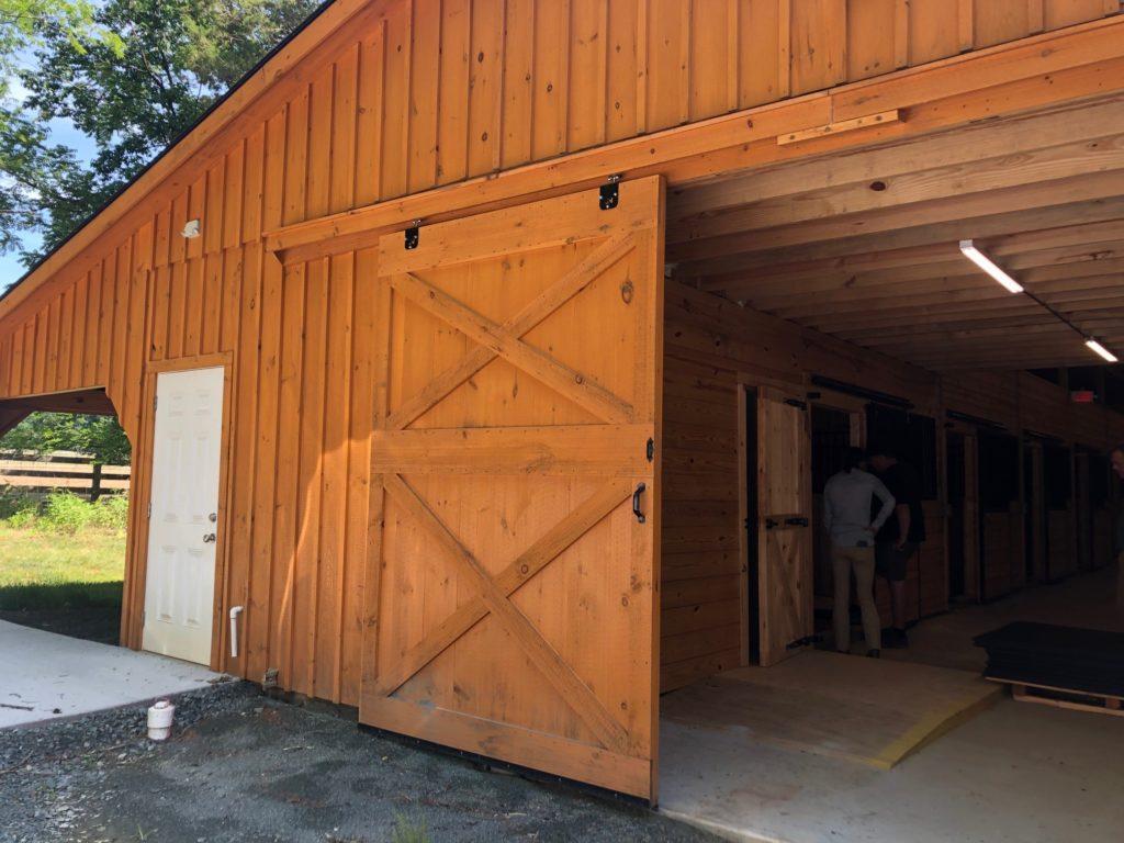 Cedarock Park Equestrian Center Barn