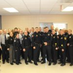 Graduation Ceremony held for 28 Local Law Enforcement Officers and EMS Staff who completed Crisis Intervention Team (CIT) Training in Alamance County.