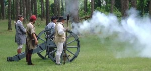 Cannon Firing